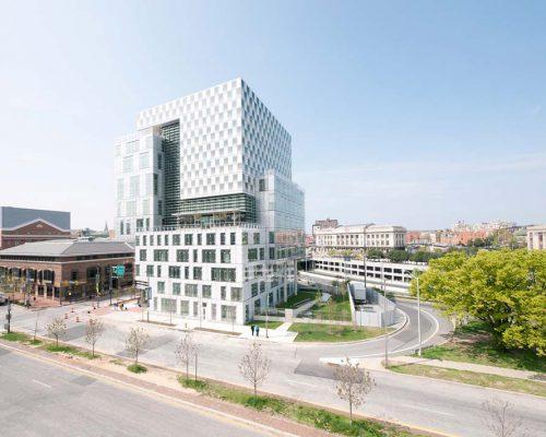 Interview mit Stefan Behnisch zum John and Frances Angelos Law Center der University of Baltimore