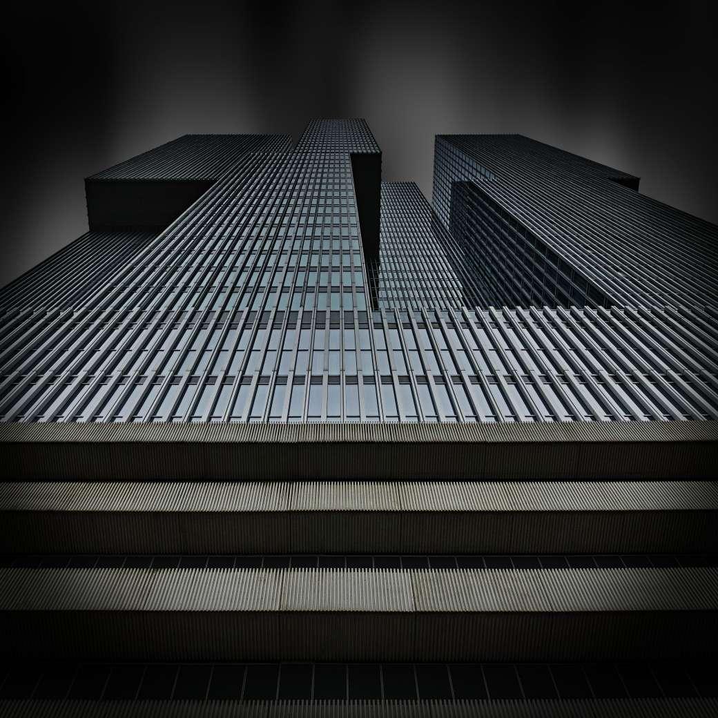 Hochhaus De Rotterdam vom Rem Koolhaas