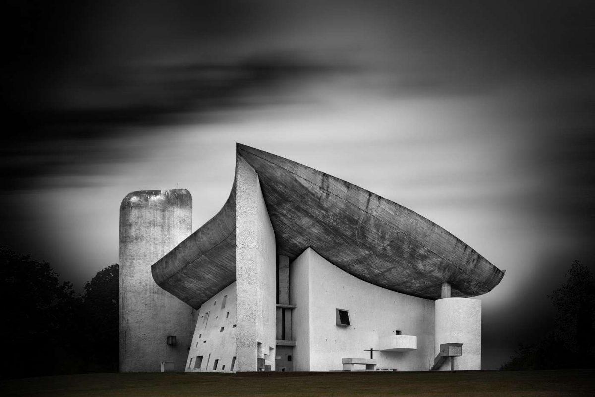 Notre-Dame-du-Haut in Ronchamp von Le Corbusier